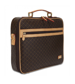 RIONI Signature Brown Jetsetter's Briefcase ST-20256