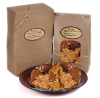One Pound Peanut Brittle - Spicy Dark Chocolate