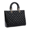 RIONI Cuscino Black The Zoey Tote LU-2233M-BL