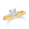 Empire Diamond Solitaire Engagement Ring