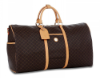 RIONI Signature Brown Duffel Traveler ST-20054