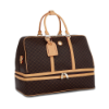 RIONI Signature Brown Duffel Dome Traveler ST-20051