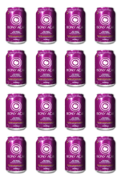 BONY ACAI Liquid Vitamins Health Drink 16-Pack