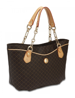 RIONI Signature Brown Trendy Traveler's Tote ST-20254