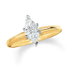 Coronation Diamond Marquise Solitaire Engagement Ring