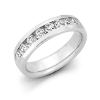 Debonair Diamond 1/2 CT. T.W. Men's Channel Set Wedding Band