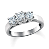 Sweetheart Diamond 3-Stone Ring