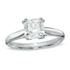 Inspiration Diamond Cushion-Cut Engagement Ring