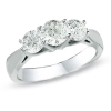 Jubilation Diamond 3-Stone Ring
