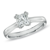 Promise Diamond Canadian Princess-Cut Solitaire Engagement Ring