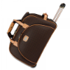 RIONI Signature Brown Duffel Roller ST-20116