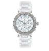 Women's White/Silver Ceramic Watch