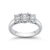 Dulcinea Diamond 3-Stone Band