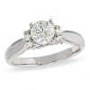 Empress Diamond Engagement Ring