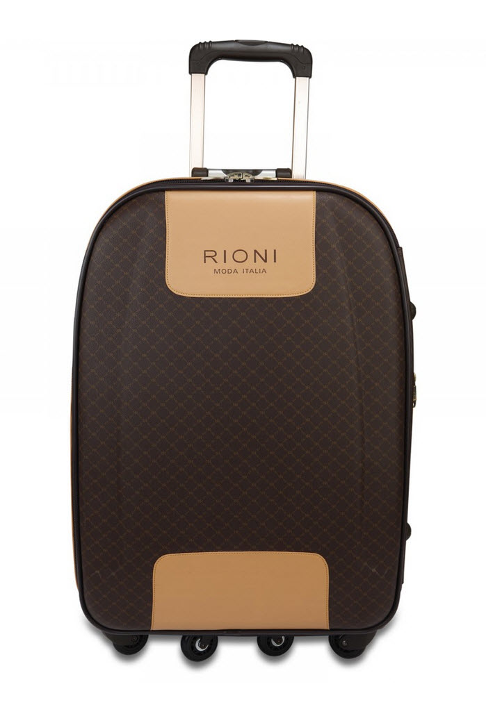 dc3c17a739ef RIONI Signature Brown 360 Large Luggage ST-20115L. Click to enlarge image(s)