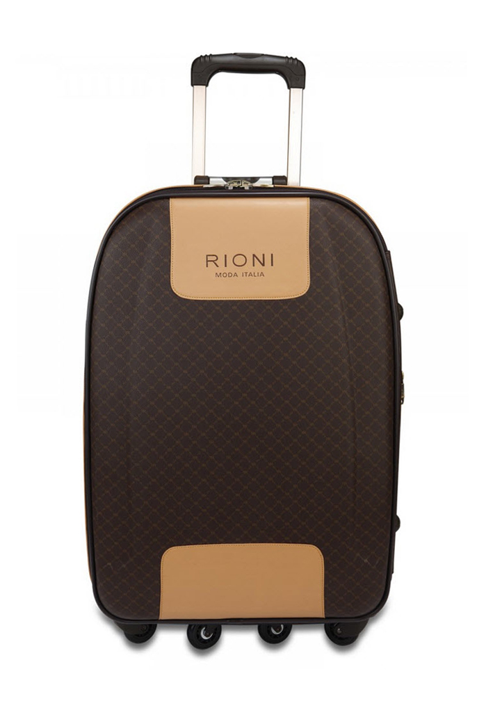 35ca7323233f RIONI Signature Brown 360 Medium Luggage ST-20115M. Click to enlarge  image(s)